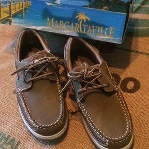 NWT Margaritaville Boatshoes by Jimmy Buffet.